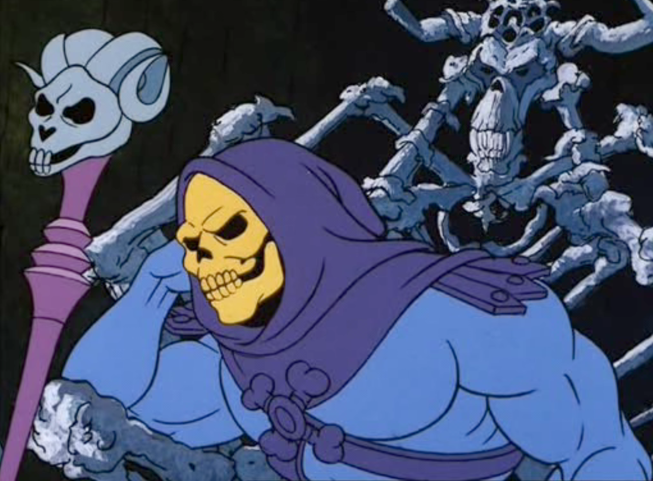 It is I Skeletor, welcome to a new year led by me!
