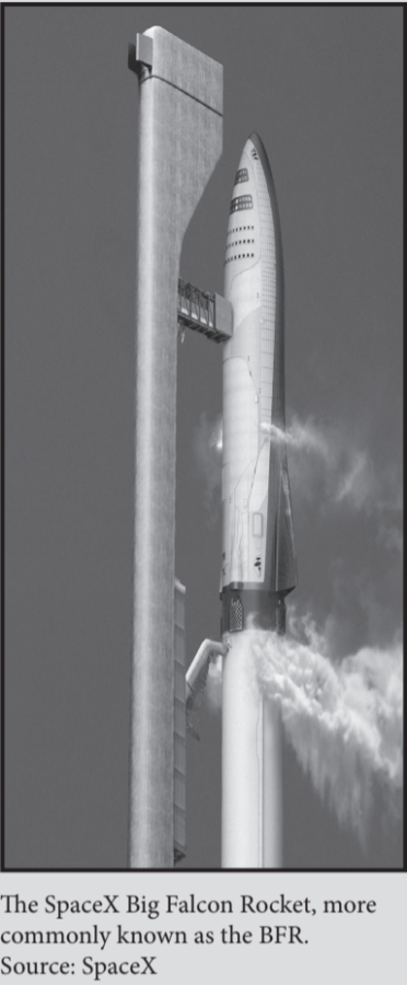 The+SpaceX+Big+Falcon+Rocket%2C+also+known+as+the+BFR.%0ASource%3A+SpaceX