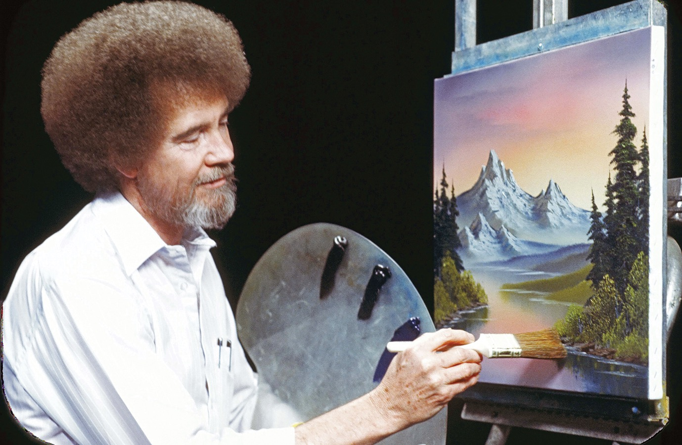 Bob Ross brings us peace