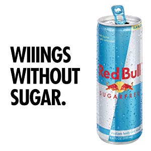 Sugar free  Red Bull is worse for you