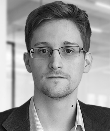 The name of this image is UNLEASH - Edward Snowden which was posted by the UNLEASH group which Edward Snowden is president of.