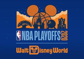 NBA playoff flyer from Disney World https://upload.wikimedia.org/wikipedia/en/0/03/NBA_Playoffs_2020_at_Walt_Disney_World_logo.png