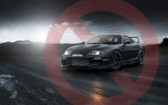 Ban on car modification